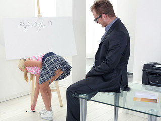 Her cupcakes alone were enough to make Veronika's tricky senior instructor want to screw her brains out