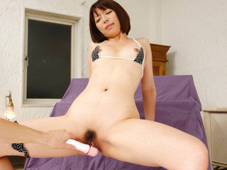 Izumi Manaka fucked by a super-hot fucktoy in the doggystyle and facialized