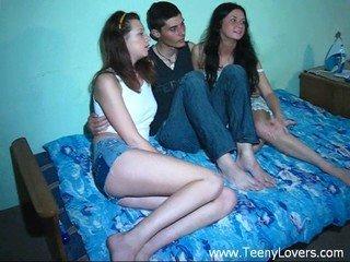 Teens love a three-way